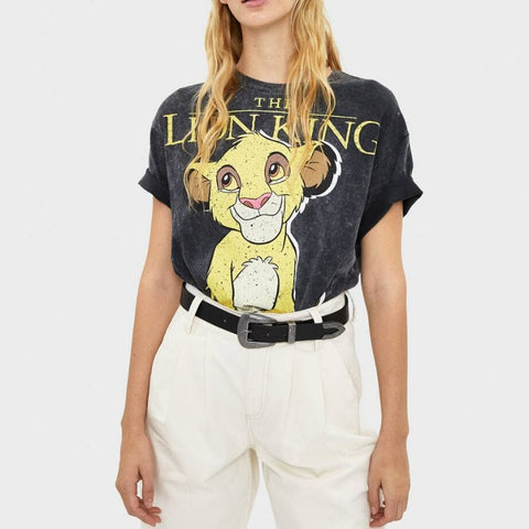 T Shirt The Lion King femme