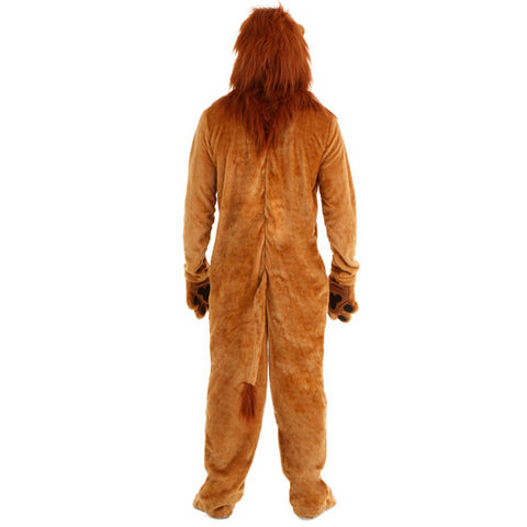 Costume lion homme.