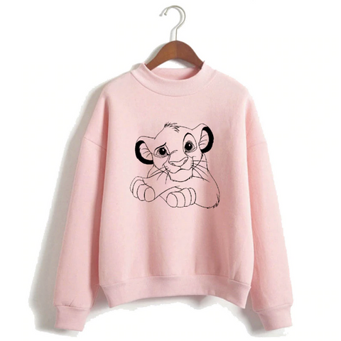 Pull disney le roi lion rose.