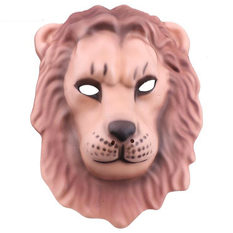 Masque lion.