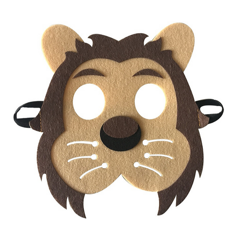 Demi masque lion.