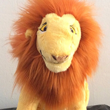 Mufasa roi de la jungle en peluche.