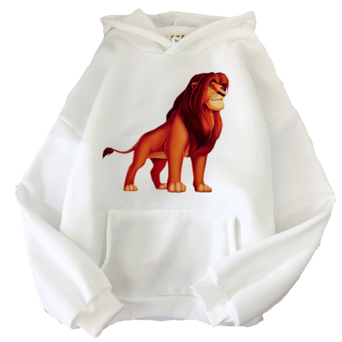 Sweat le roi lion mufasa blanc.