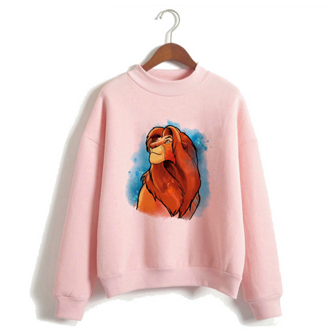 Pull roi lion fille mufasa rose.