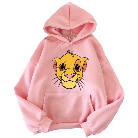 Sweat disney le roi lion rose.