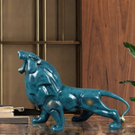 Statue interieur lion design