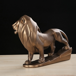 Statue deco interieur lion