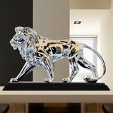 Statuette lion interieur.