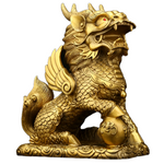 Statue lion chinois