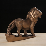 Statuette decoration lion