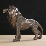 Lion deco statue interieur