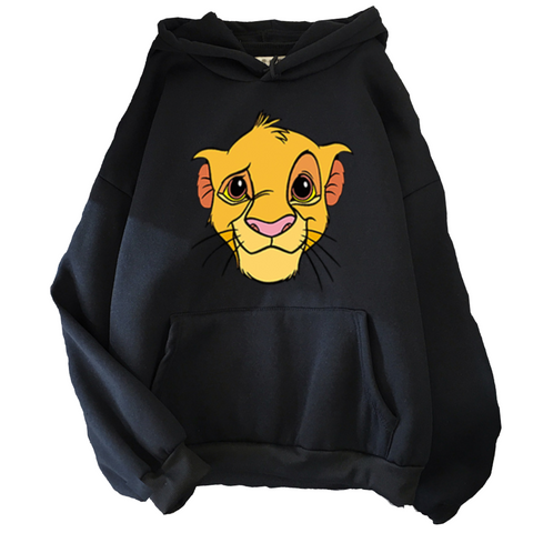 Sweat Disney le roi lion noir.