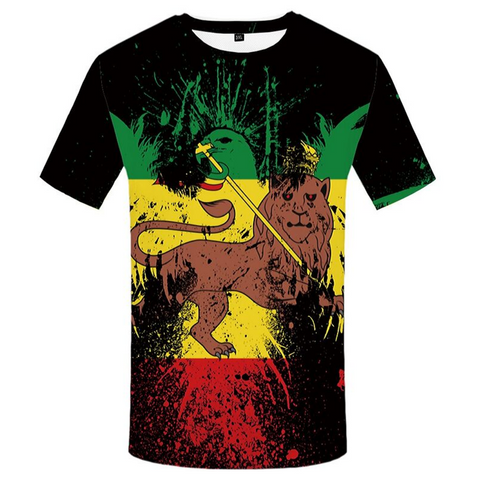 T-shirt lion de juda.