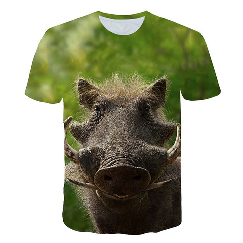 T-Shirt Roi Lion Pumbaa | Lion Royaume