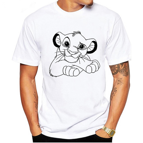 T-Shirt Roi lion.