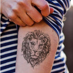 Tatouage Lion Graffiti