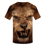 Tee shirt tete de lion.