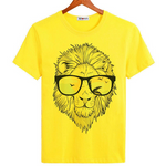 T-shirt lion homme.