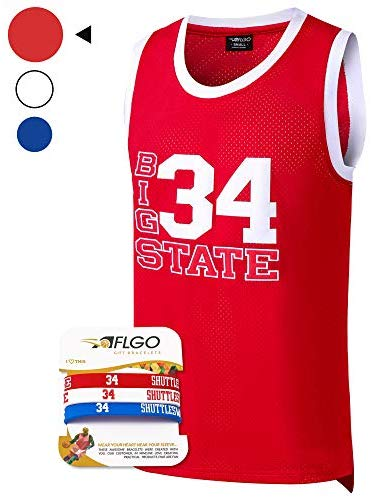 Jesus Shuttlesworth #34 Lincoln High School Basketball Jersey Stitched