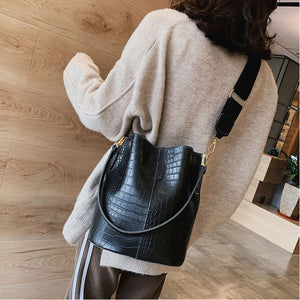 Alligator Bucket Bag