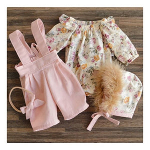 2PCS Toddler Kids winter/fall outfit