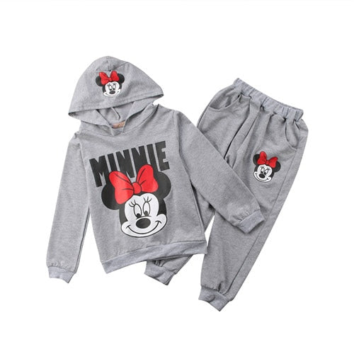 Kids Minnie Mouse Clothes 2 Pcs