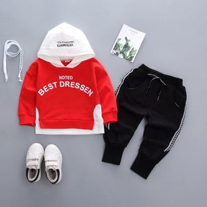 Autumn Boys Cartoon Casual track suit