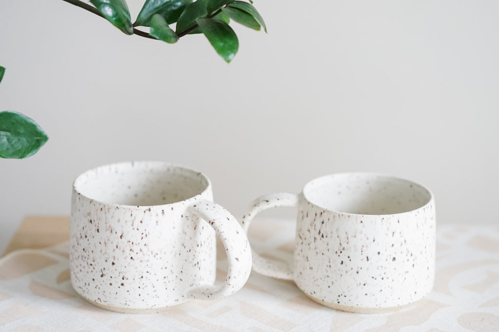 11-13oz Simple White Mugs