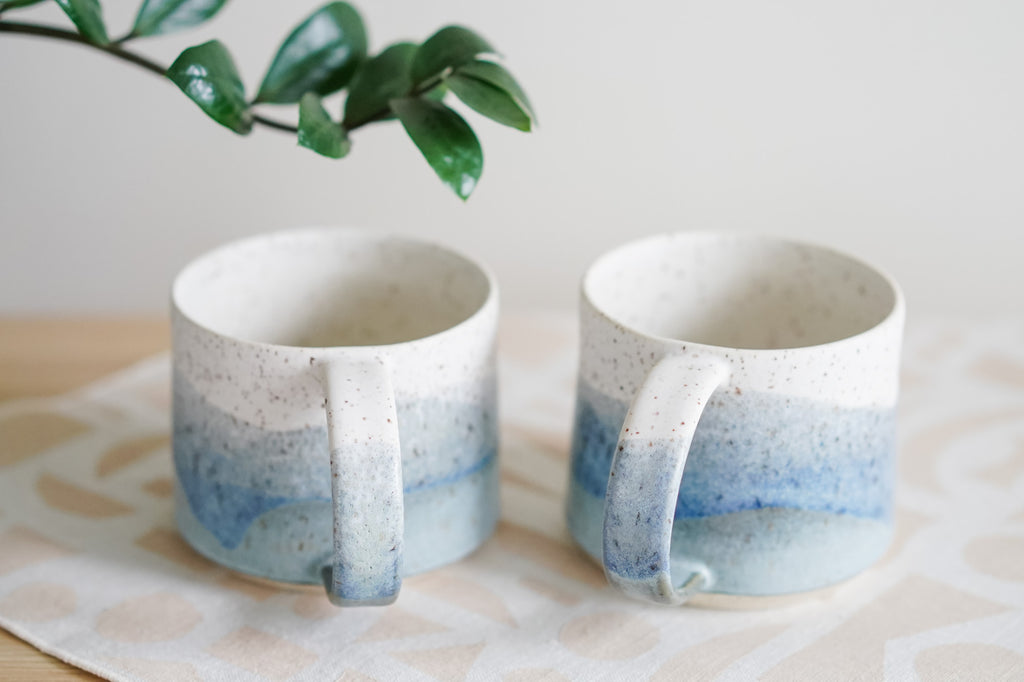 14oz Seascape Mugs (#11, #12)