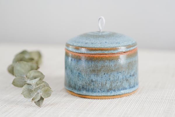 Small Lidded Jar in Vineyard Sound