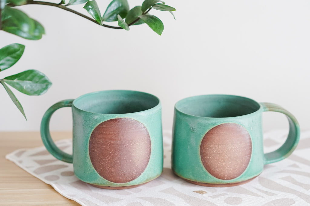 Graphic Mugs in Juniper Grove