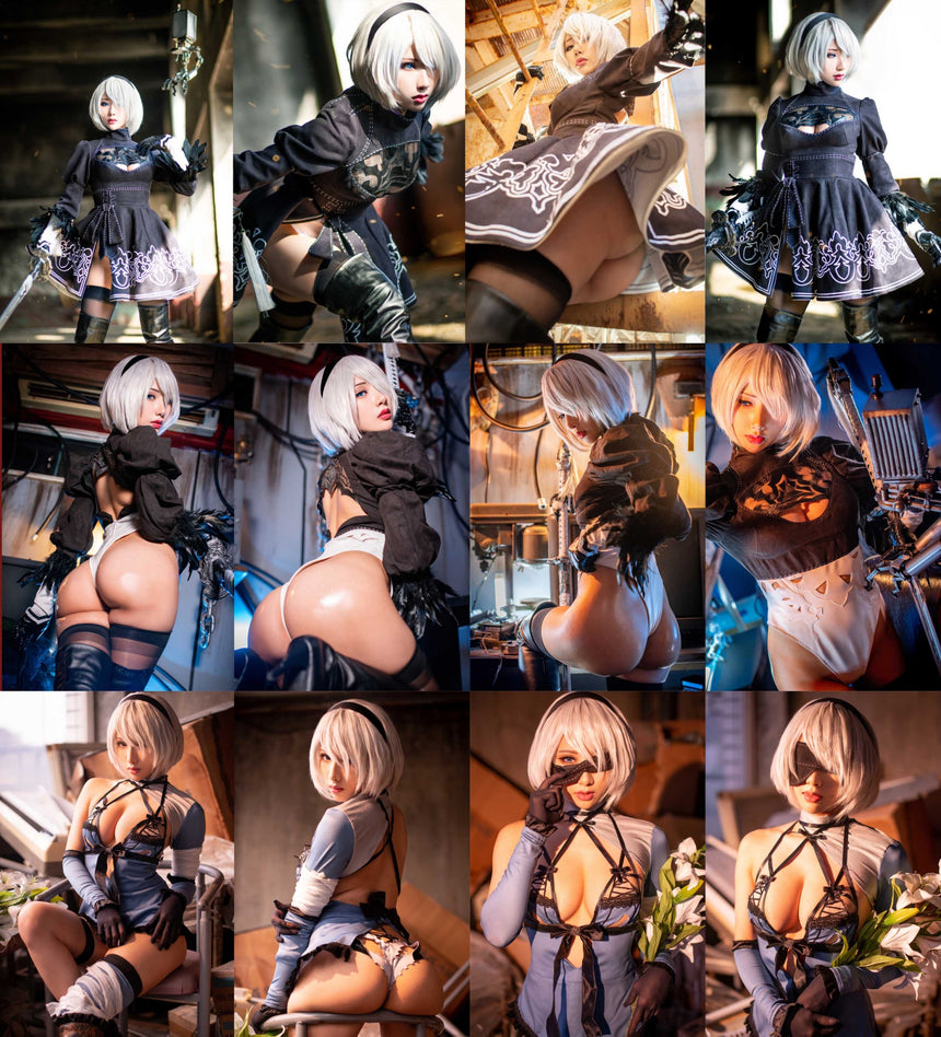 《NIER: 2B》Photobook SET