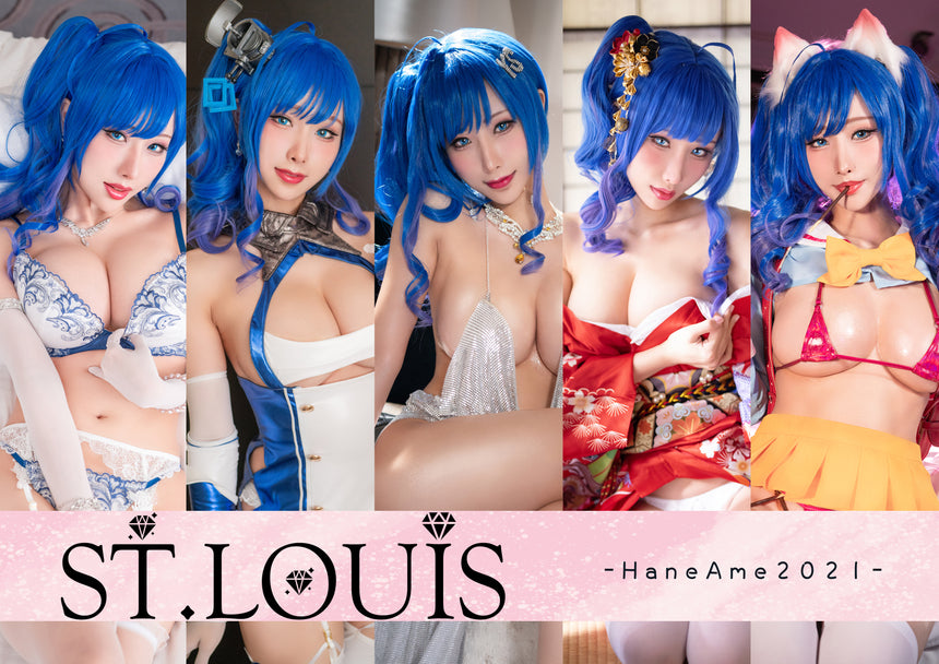 NEWEST《AzurLane》St. Louis Photobook   3D MousePad
