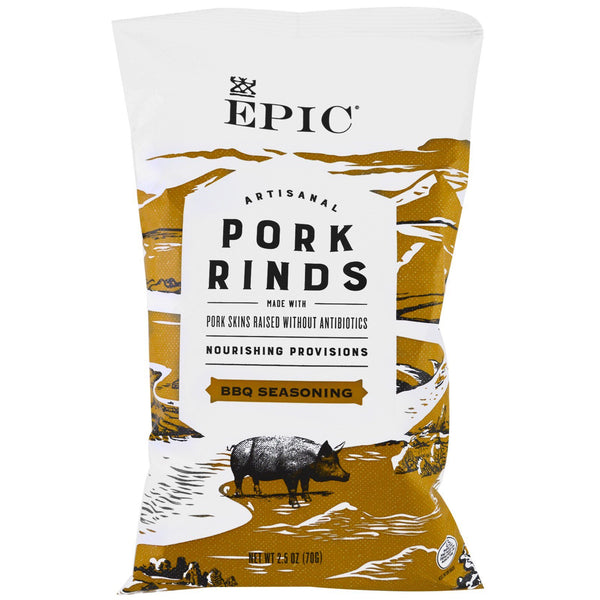 Texas BBQ Pork Rinds 2.5 oz