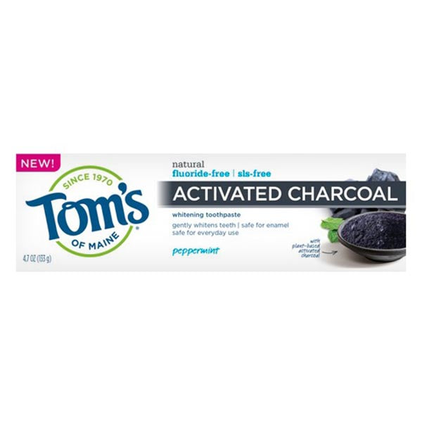 Charcoal Peppermint Toothpaste 4.7 oz
