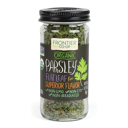 Organic Parsley Leaf Flakes 0.24 oz