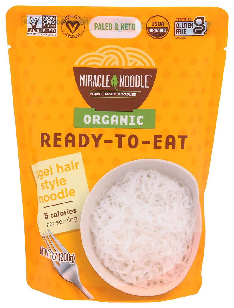 Angel Hair Noodle - Ready To Eat 7 oz