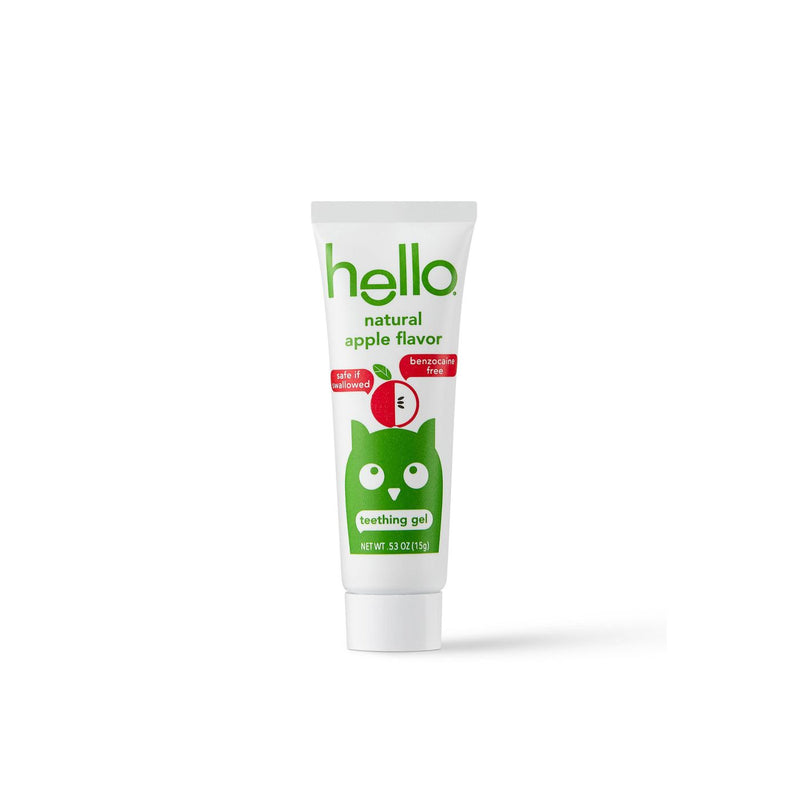 Natural Apple Flavor Teething Gel - 0.53oz