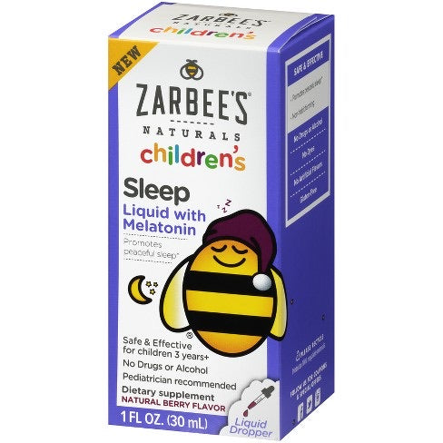 Children's Sleep Liquid con Melatonina