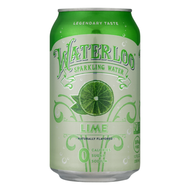 Lime Waterloo Sparkling Water
