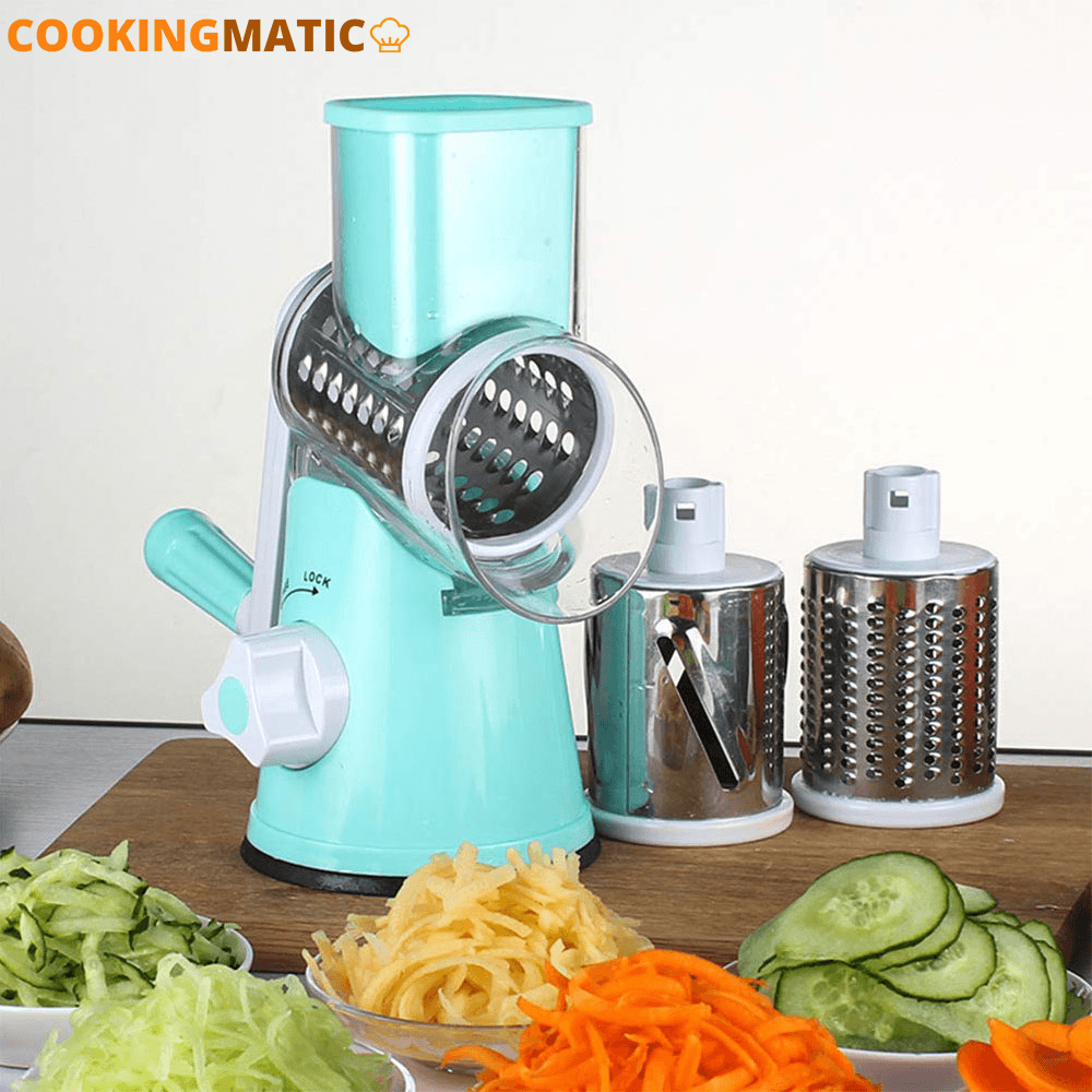 Multi Function Vegetable Cutter & Slicer 100003249 Cookingmatic Blue