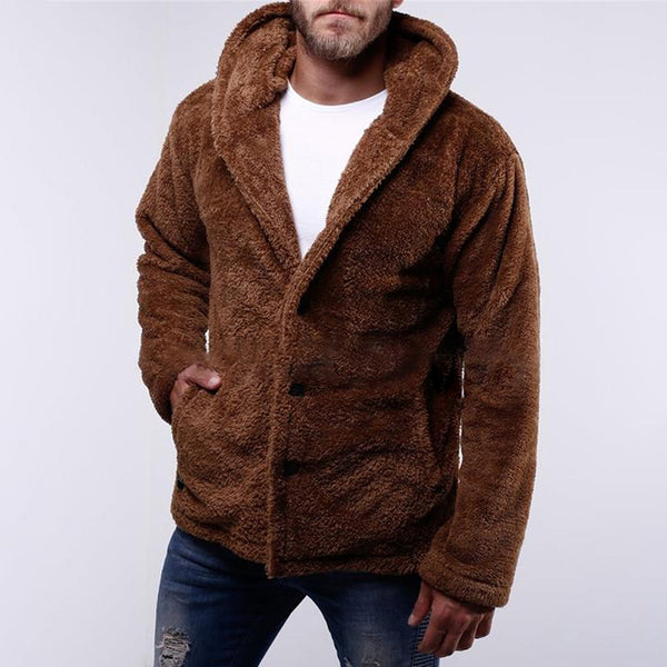 Men's Casual Warm Fleece Jacket
