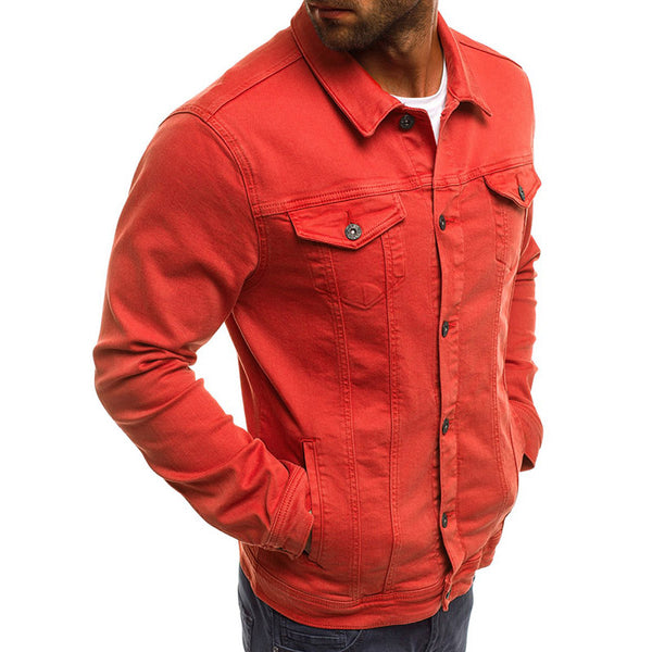 Men's Casual Slim Short Jacket