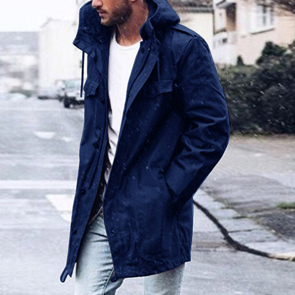 Men's Casual Hooded Jacket