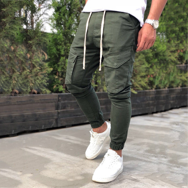 Army Green Men's Casual Pants