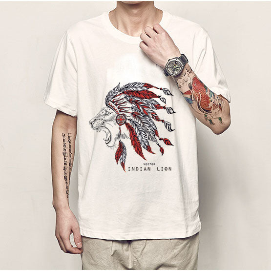 Spring And Summer New Short-sleeved T - Shirt Men's Cotton Custom Cotton Advertising Shirt
