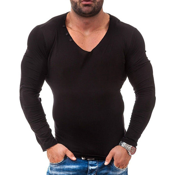 Men's T-shirt With Slim Pullover
