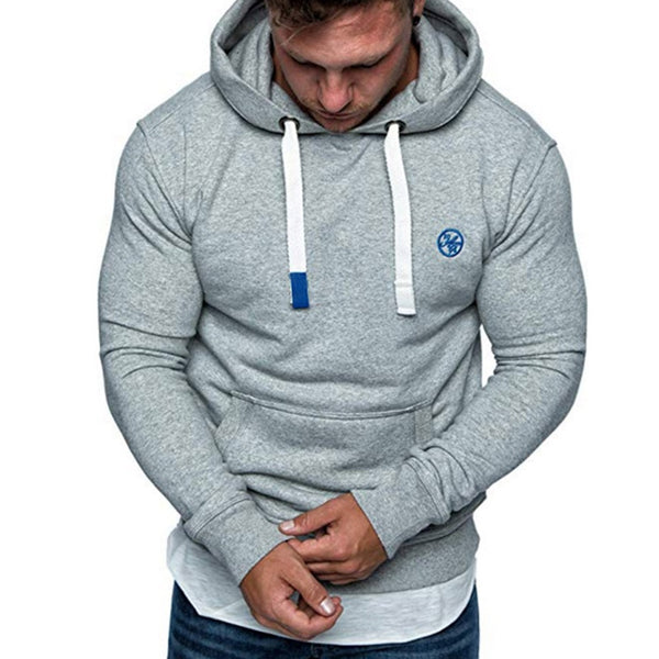 Solid Color Casual Sports Hoodie