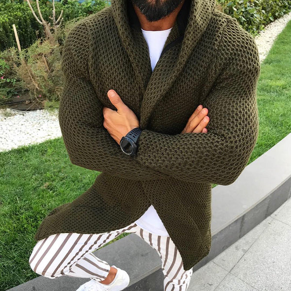 Men's Slim Cardigan Sweater