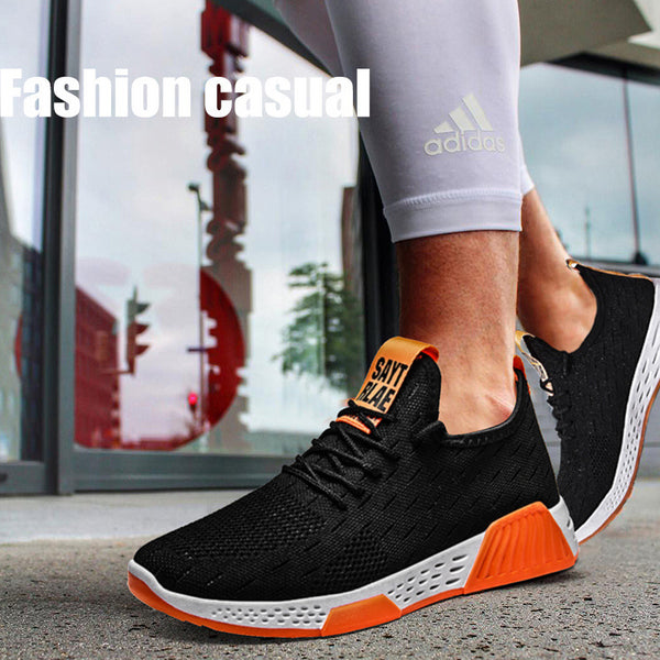 Casual Breathable Mesh Fly Knit Shoes